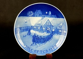 Arrival of Christmas Guests ~ Bing & Grondahl Collector Plate, 1969, #80... - $6.81