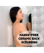 Hands-free ceramic Back Scrubber Skin Care Exfoliating acne bathing Shower  - $49.00