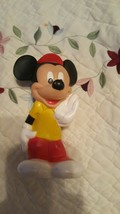 Vintage 1989 Playskool Disney Baby Squeezables Mickey Mouse - $7.91