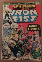 Marvel Premiere Featuring Iron Fist #25 1976 VF Condition Marvel Comic Book - $26.99