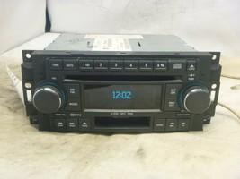 05-09 Chrysler Dodge RAK Radio 6 Disc Cd Mp3 Cassette Player P05064032AG... - $65.84
