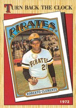 1987 Topps Turn Back The Clock #313 Roberto Clemente > Pittsburgh Pirates - $0.99