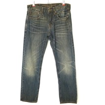 American Eagle Jeans Slim Straight Vintage Collection 28 X 28 Actual 28 ... - $447,61 MXN