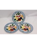 """Cambridge Potteries Fruit Salad Plates 7.75"""" Set of 3 - $28.91"""