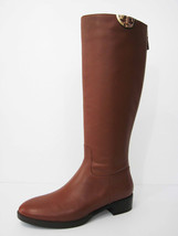 New Tory Burch Sidney Boot Hi Veg 31441 Penny Brown Leather 9 - $384.12