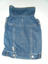 JEAN JACKET 16 WIDTH 11 LENGTH WITH STAND UP COLLAR...SO CUTE - $19.79
