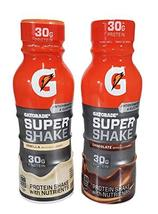 Gatorade Super Shake 30grams of Protein 11.16 resealable Bottles 12 Pack... - $59.39