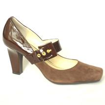 NEW Franco Sarto TENOR MaryJane Pumps Women's 8.5 M Brown Leather 3 IN+ ... - $24.99