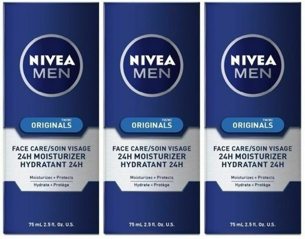 Primary image for 3 x Nivea Men Originals Face Care 24H Moisturizer