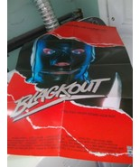 1987 BLACKOUT 1-SH TV Movie Poster Keith Carradine, Kathleen Quinlan use... - $17.63