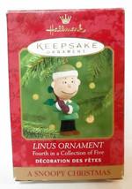 Hallmark Keepsake Ornament SNOOPY CHRISTMAS (2000) Linus with Tree Mint ... - $12.99