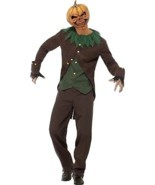 Goosebumps Jack-O'-Lantern Costume, Medium, Halloween Fancy Dress, Mens - €60,22 EUR