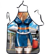 Sexy Air Hostess designed sleeveless apron - $25.00