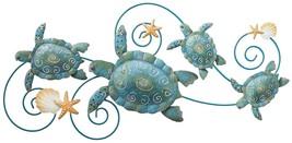 "Sea Turtle Wall Decor 31"" Regal Art Gift Coasta... - $49.54"