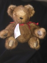 ReMinkie Genuine Mink Handmade Jointed Teddy Bear Limited Edition 1 Of 1... - $46.75