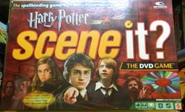 Harry Potter Scene It DVD Board Game-Complete - $12.00