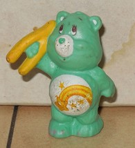 1984 Kenner Care Bears Wish Bear Mini Pvc Figure Vintage 80's #1 - $14.00