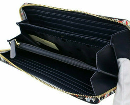 NWT Kate Spade Large Continental Wallet Navy Saffiano Leather Ziparound ... - $72.99