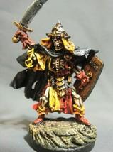 D&D Miniature Skeleton Warrior Emperor - High Quality Paint Work !! s75 - $55.00