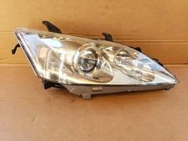 07-09 Lexus ES350 Xenon HID AFS Headlight Lamp Passenger Right RH -POLISHED image 1