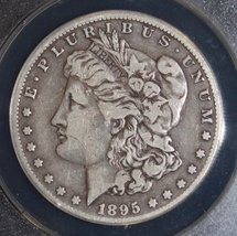1895 O Scarce Date Very Fine 20 Morgan Silver Dollar - $389.95