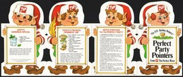 Vintage booklet 7 UP Perfect Party Pointers dated 1983 picturing elves n... - $6.99