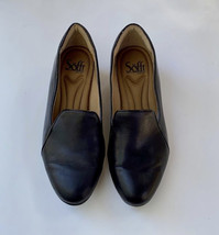 Sofft Altessa II Pointed Toe Leather Pumps, Women's Size 6 M, Black - $20.00
