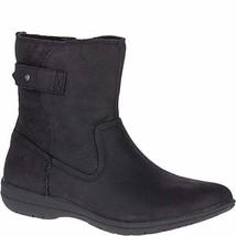 Merrell Women's Encore Kassie MID Waterproof Fashion Boot, Black, 9 M US - $115.02