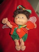 Vintage 1995 CPK Christmas Pointsettia Cabbage Patch Fairy Doll - $7.66