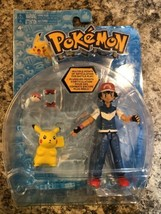 Pokemon Ash And Pikachu Action Figure Tomy Brand New - $78.21