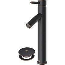 Vigo VG03003ARB2 Dior 1-Handle Vessel Bathroom Faucet, Antique Rubbed Br... - $120.00