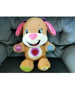 Toy FISHER PRICE Laugh & Learn Smart Stages Puppy Soft Plush TESTED EUC - $25.99