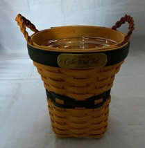 Longaberger 2001 Collectors Club CC Renewal Basket with Plastic Protector - $28.04