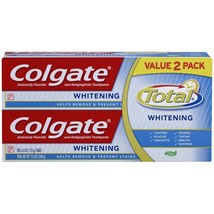 Colgate Total Whitening Gel Toothpaste - 12 ounce (Twin Pack) - $8.65