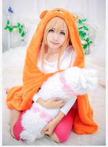 Dried fish sister! Umar chan cosplaycloak air conditioning blanket Costumes - $33.00