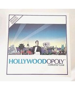 Hollywoodopoly : A Cityopoly Game Deluxe Edition, Board Game 1990 New Se... - $20.74