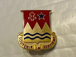 US Military 703rd Maintenance Battalion Insignia Pin - Soutenir La Stepieme - $10.00