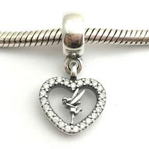 Auténtico Pandora Disney Amor Tinkerbell Charm Colgante, 791565 ,Nuevo - $51.20