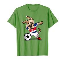 New Shirts - Dog Dabbing Soccer Costa Rica Jersey Shirt Football Gift Tee Men - $19.95+