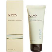 AHAVA Time to Clear Refreshing Cleansing Gel 100ml/3.4oz NIB - $21.66