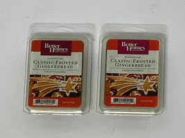 2 x NEW Better Homes and Gardens Scented Wax Cubes Classic Frosted Gingerbread - $9.95