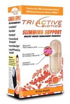 TriActive Biotics Slimming Support, Probiotic (30 Day Supply/ Capsule) - $37.46