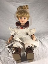 Vintage Porcelain Doll Unmarked Unknown Maker - $38.58
