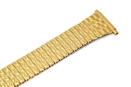 Speidel 18-22MM Gold Tapered Twist O Flex Expansion Watch Band Strap - $14.84