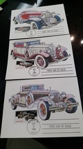 FIRST DAY OF ISSUE 1933 - DUESENBERG - STAMP & POST CARD , AUG 25,  25 C... - $0.99