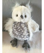 "Manhattan Toy Luxe Luna 13"" Stuffed Animal Owl Plush Stuffed Animal Whit... - $24.73"