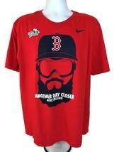 Nike Another Day Closer #GetBeard Boston Red Sox 2013 World Series T-Shirt Sz XL - $14.26