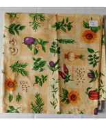 Fabric Cranston VIP, Cooking Theme Vegetables Herbs Spices, 44 Wide 1 Yard - $5.99