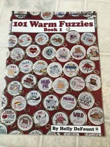 101 Warm Fuzzies Cross Stitch Pattern Booklet 2493 Book 1 Leisure Arts - $12.19
