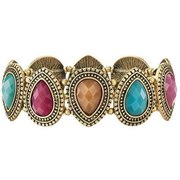 Gemma mixed stone bracelet